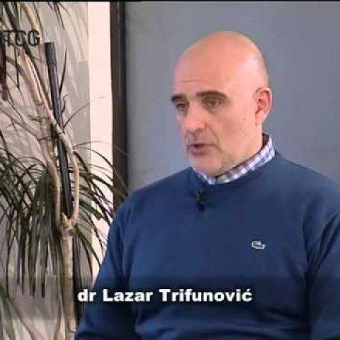 Intervju sa dr Lazarom Trifunovićem za RTCG